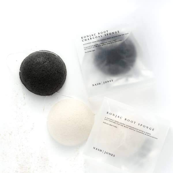 Konjac Face Sponges - Glory Skincare