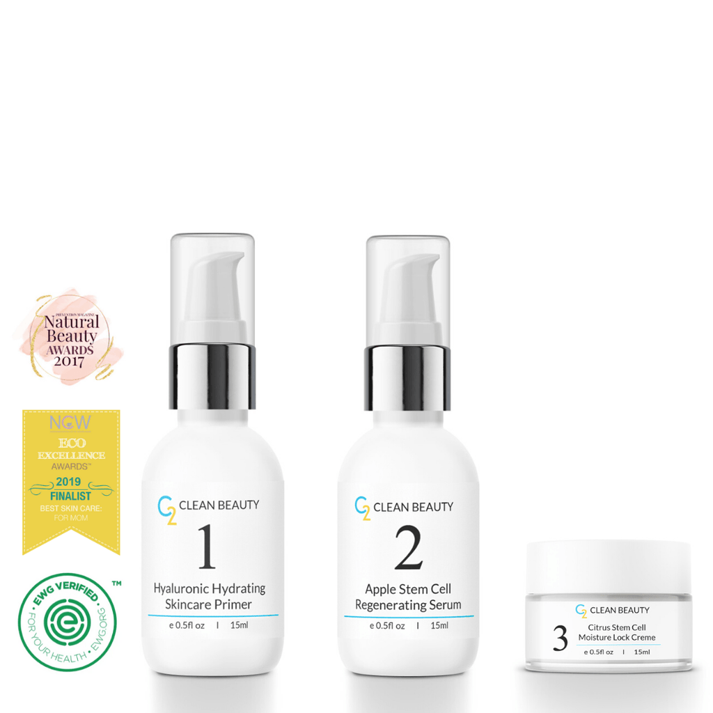 Normal Skin Kit (HA Primer, Serum, and Citrus Moisture Lock Creme) - Glory Skincare