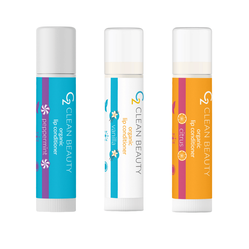 Organic Lip Conditioners Mix & Match - Glory Skincare