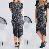 Lolita Lace Dress - Black CLEARANCE
