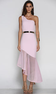 Chrysalis Dress Pink by Runaway The Label