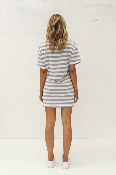 Ivy Tie Tee Dress