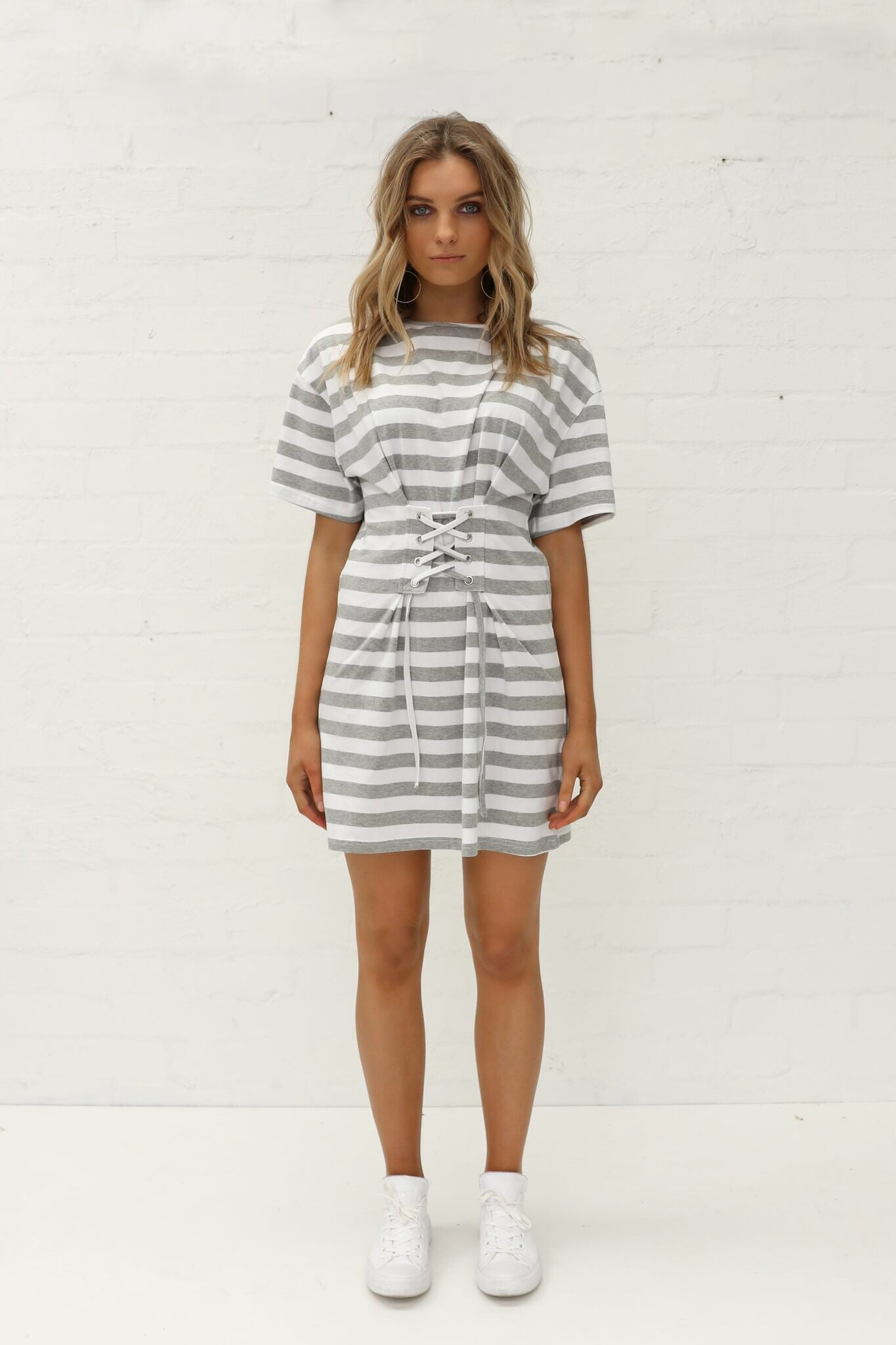 Ivy Tee Tie Dress by Madison Square Clothing
