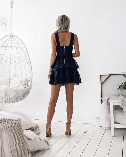 Jonas Dress - Navy