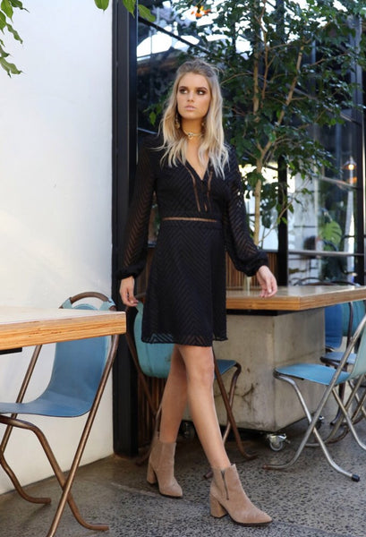 Poppy Dress - Black