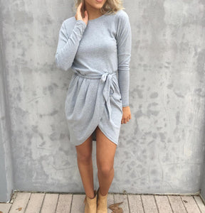 Maxine Dress - Grey CLEARANCE