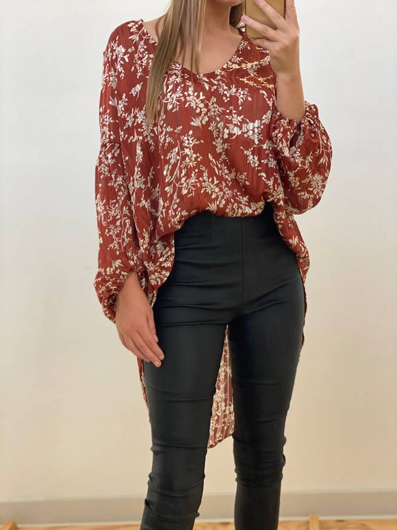 Autumn Vine Blouse