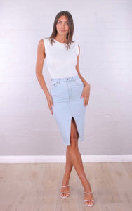 Khya Denim Skirt