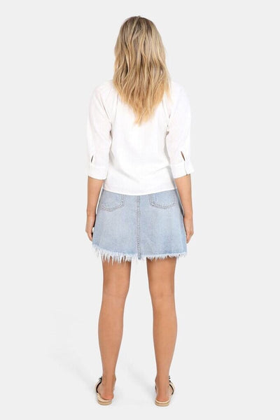 Jaymee Denim Skirt