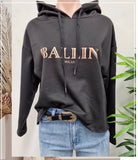 Ballin Hoodie Long Sleeve Sweater Top
