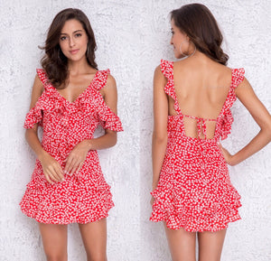 Double Dare Dress - Red CLEARANCE