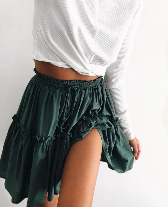Endless Summer Skirt - Emerald CLEARANCE