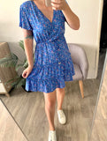 Ditsy Floral Dress - Blue