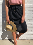 Summer Days Skirt - Black CLEARANCE