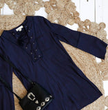 Harvest Tunic || Navy CLEARANCE