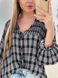 Checkers Blouse