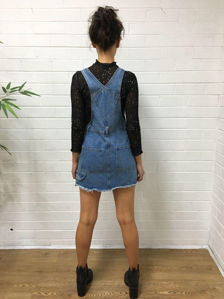 Noah Denim Pinnafore