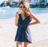 Monaco Playsuit - Navy