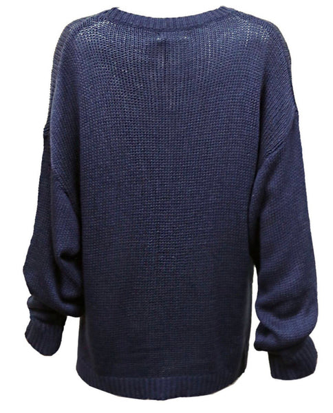 Abbie Knit - Navy