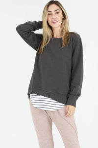 Newhaven Sweater - Ash (3rd Story The Label)