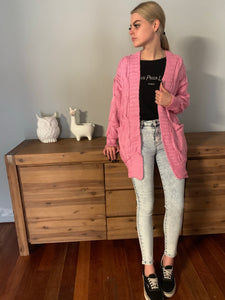Candy Shop Cable Cardi CLEARANCE