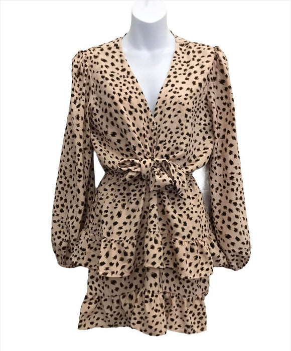 Mea Leopard Dress