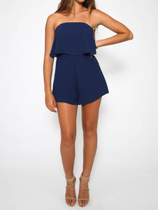 Island Playsuit - Navy CLEARANCE