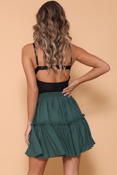 Endless Summer Skirt - Emerald by Runaway The Label