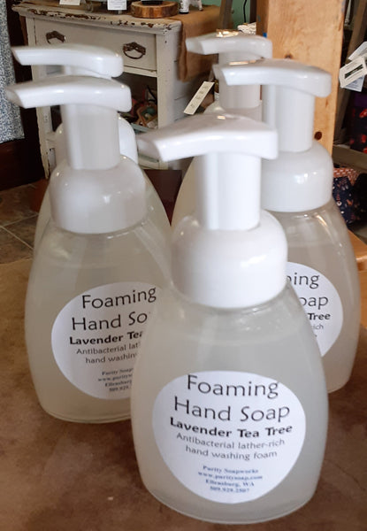 Liquid Soap, Foaming