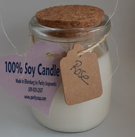 Candle, Soy Wax, Mini Milk Bottle
