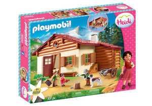 PLAYMOBIL SET TO LAUNCH 'HEIDI' FIGURES AND PLAY SETS