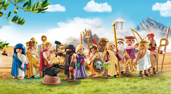 Playmobil goes back in time with new History sets portraying Greek gods!