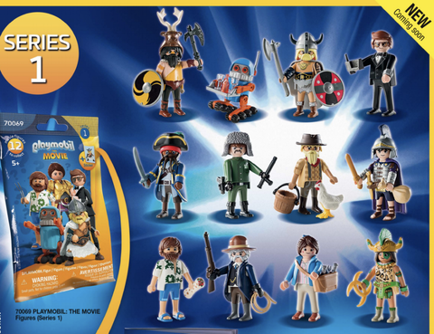 Playmobil: The Movie Figures (Series 1) Items