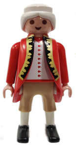 Playmobil 30 00 9992 30009992 Naval commander, white ponytail, long red coat 5646 6228
