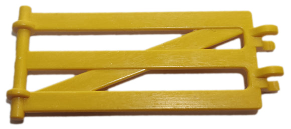Playmobil 30 02 1160 Yellow Fence made of longers, hooks together (Pre-Owned)