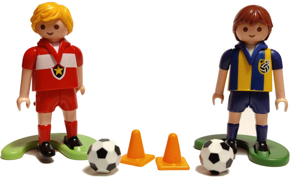 Playmobil 4726 Soccer players 30 00 0933 and 30 00 0943
