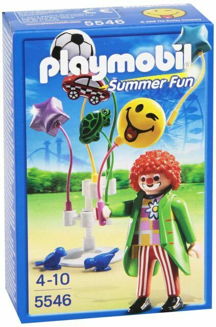 Playmobil 5546 Balloon Seller (mint in box)