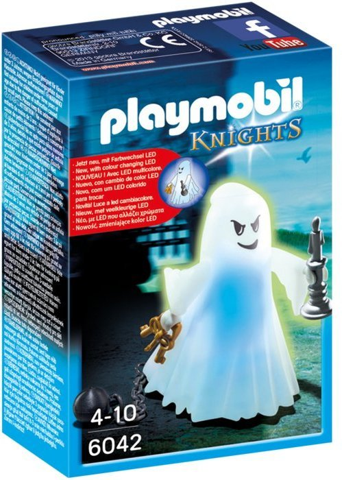 Playmobil 6042 Castle Ghost with Rainbow LED (Mint in Box)