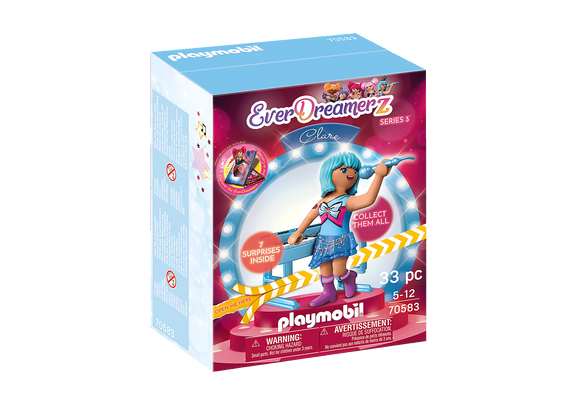 Playmobil 70583 EverDreamerz Series 3 Clare (BOXED) - Music World