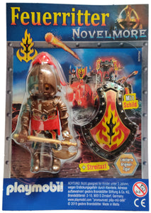 Playmobil 30 79 3764 Feuerritter Novelmore in enclosure from magazine 80640 09/2019 (Issue 75)