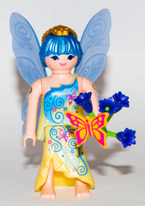 Playmobil 70026 Series 15 Girls Fairy Godmother with Flowers and Wings