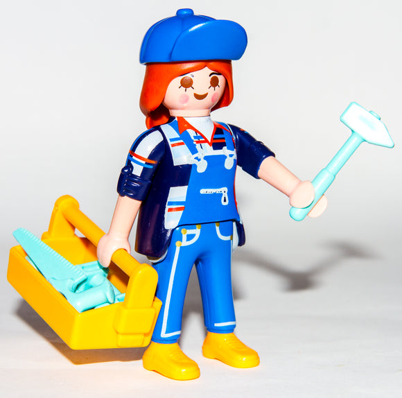 Playmobil 9333 Series 13 Girls Carpenter Handywoman Repairer