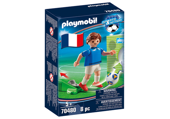 Playmobil 70480 Euro 2020 2021 Player Team France A Soccer Football