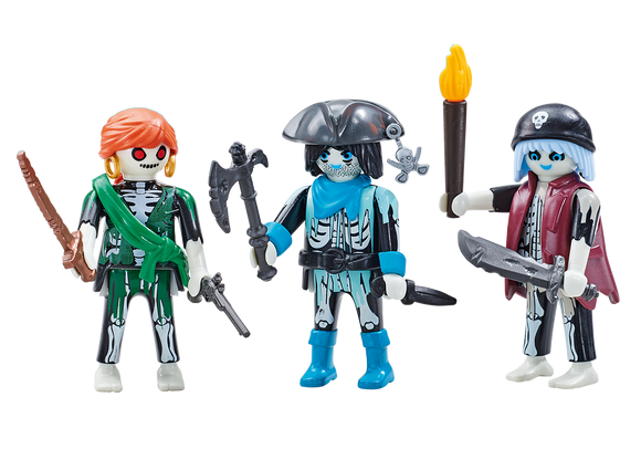 Playmobil 6592 Three Ghost Pirates Drei Geisterpiraten Tres piratas fantasmas