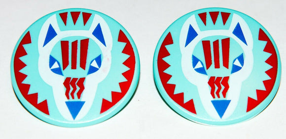 Playmobil LOTx2 30 62 2546 30622546 round Shield 70062 Native American Indian