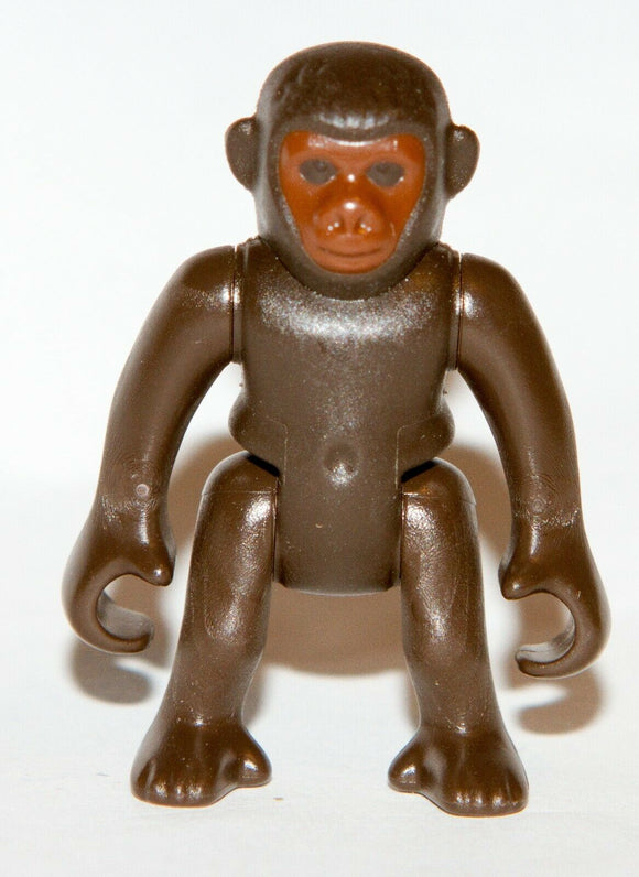 Playmobil 30 27 9160 30279160 Brown Chimpanzee monkey Baby Gorilla Zoo Animal