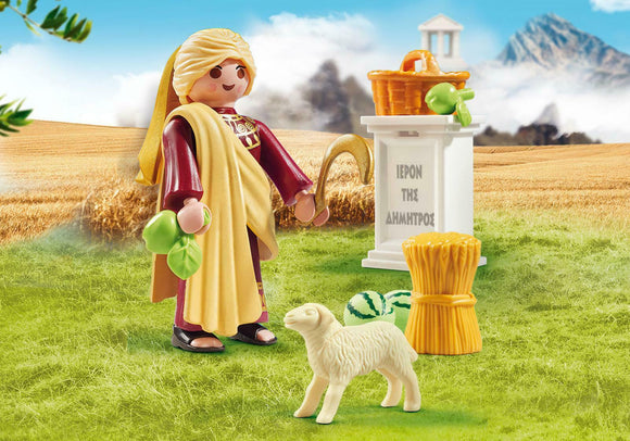 Playmobil History 9526 Greek God Demeter