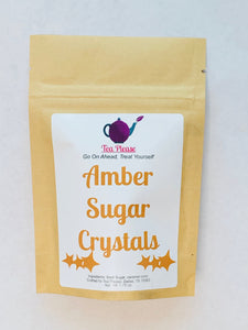 Amber Sugar Crystals - Tea Please