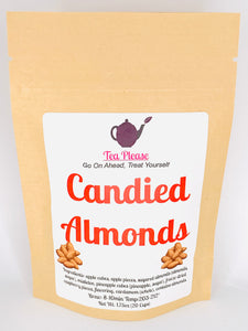 Candied Almonds - Tea Please