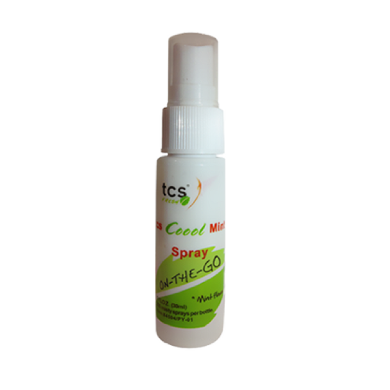 TCS® Fresh Spray Mentholé (28ml)